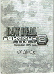 Survivor Series 2 Rule Book