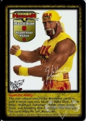 Hollywood Hulk Hogan Superstar Card (PROMO)