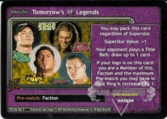 <i>Revolution</i> Tomorrow's WWE Legends