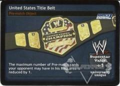 United States Title Belt
