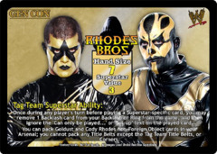 Rhodes Brothers Superstar Card (PROMO)