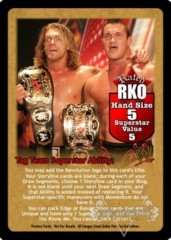 Rated RKO Superstar Card