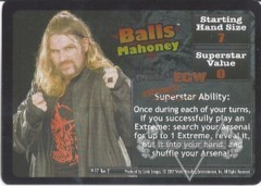 <i>Revolution</i> Balls Mahoney Superstar Card