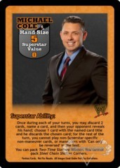 Michael Cole Superstar Card