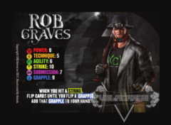 Rob Graves Competitor Card (The Takeover)