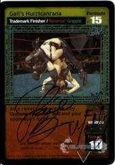 Gail's Hurricanrana - Signed by Gail Kim & Molly Holly