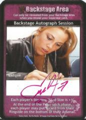 Backstage Autograph Session - Melina