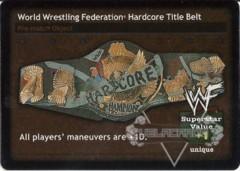 World Wrestling Federation Hardcore Title Belt