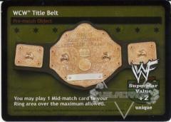 WCW Title Belt