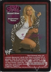 Trish Stratus Superstar Card