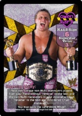 Owen Hart Superstar Card (PROMO)