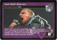 Trash Talkin' Interview
