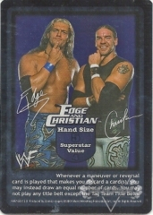 Edge and Christian Superstar Card