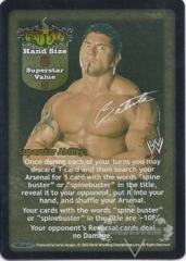 Batista Superstar Card