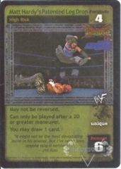 Matt Hardy's Patented Leg Drop