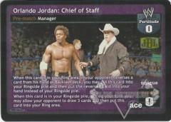 Orlando Jordan: Chief of Staff