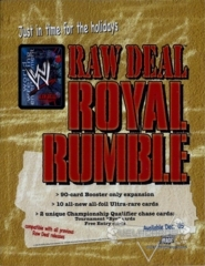 Royal Rumble Sales Sheet