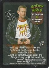 Roddy Piper Superstar Card