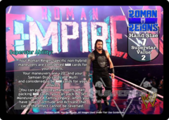 Roman Reigns Superstar Card (PROMO) (2)