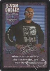 D-Von Dudley Superstar Card - SS2