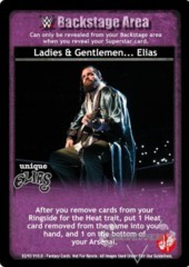 Ladies & Gentlemen... Elias