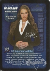 SmackDown! GM Stephanie McMahon Superstar Card