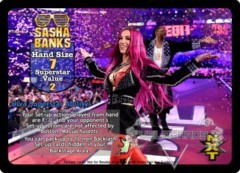Sasha Banks Superstar Card - VSS
