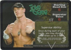 <i>Revolution</i> John Cena Superstar Card
