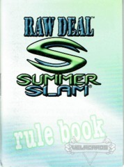 SummerSlam Rule Book