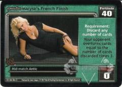 <i>Revolution</i> Maryse's French Finish