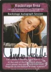 Backstage Autograph Session - Candice Michelle