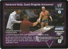 Hardcore Holly, Guest Ringside Announcer