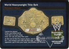 World Heavyweight Title Belt