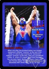 Blue Blazer Superstar Card