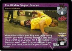 The Hidden Dragon: Balance
