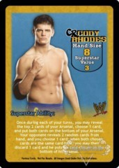 Cody Rhodes Superstar Card