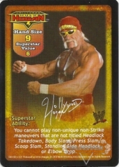 Hollywood Hulk Hogan Superstar Card - SS2