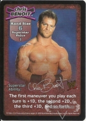 Chris Benoit Superstar Card - SS2