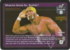 Whatcha Gonna Do, Brother?