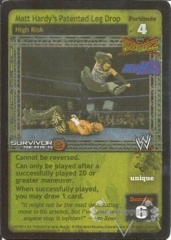 Matt Hardy's Patented Leg Drop - SS2