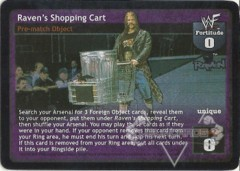 Raven's Shopping Cart