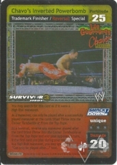 Chavo's Inverted Powerbomb - SS3