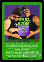 New Age Outlaws Superstar Card
