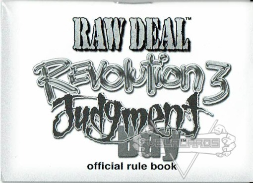<i>Revolution</i> 3: Judgment Day Rule Book