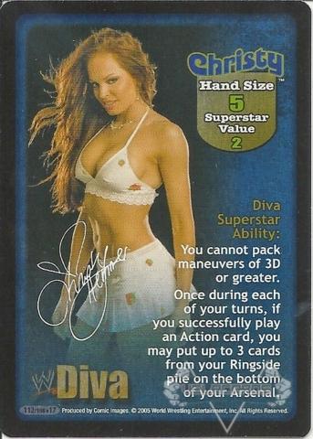 Christy Superstar Card
