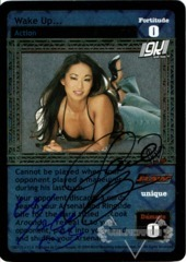 Wake Up... - Signed by Gail Kim & Molly Holly