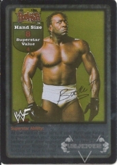 Booker T Superstar Card