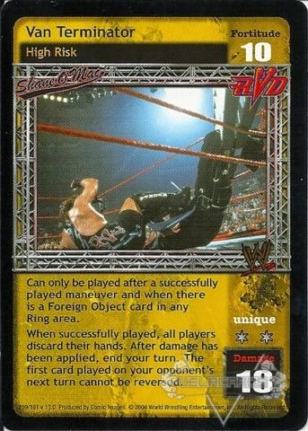 Van Terminator - WWE Raw Deal Superstars » Shane O'Mac - VelaCards