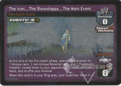 The Icon…The Showstoppa…The Main Event - SS3 CORRECTED
