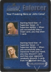 Your Freaking Hero or John Cena?